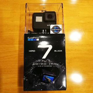 ゴープロ(GoPro)のGoPro HERO7 BLACK 5年保証 国内正規品新品未使用(ビデオカメラ)