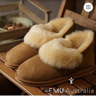 エミュー(EMU)のemu baia ムートン 25センチ(ブーツ)
