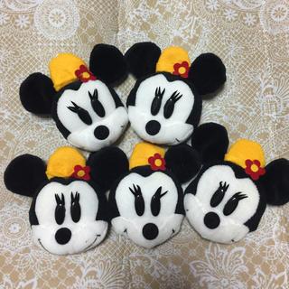 ディズニー(Disney)の★値下げ★ミニー フェルトマスコット5個set !!(*´꒳`*)♪(おもちゃ/雑貨)