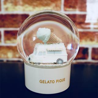 ジェラートピケ(gelato pique)のジェラートピケ 2015年ノベルティ スノードーム(置物)