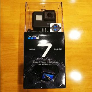 ゴープロ(GoPro)のGoPro HERO7 BLACK 5年保証 国内正規品 新品未使用(ビデオカメラ)