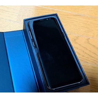 サムスン(SAMSUNG)の「未使用品・新品」AU Galaxy S8+ SCV35 ギャラクシーS8+(スマートフォン本体)