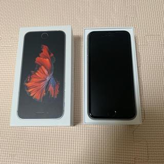 アップル(Apple)のiPhone 6s 美品 Silver 16 GB Softbank(スマートフォン本体)