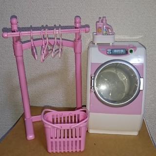 リカちゃん人形・洗濯機セット(キャラクターグッズ)