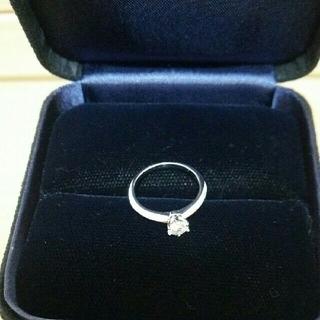 ティファニー(Tiffany & Co.)のTiffany&Co. ティファニー ダイヤモンド プラチナ指輪 リング  7号(リング(指輪))