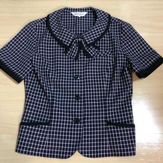 ジョア(Joie (ファッション))のオーバーブラウス  事務服 9号(シャツ/ブラウス(半袖/袖なし))