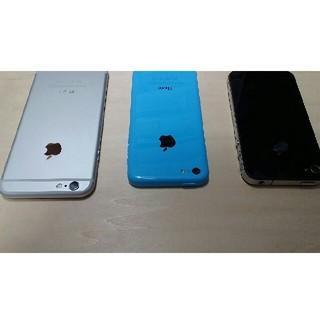 アイフォーン(iPhone)のiphone6.iphone5c.iphone4美品(スマートフォン本体)