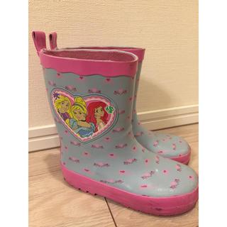 ディズニー(Disney)のまみ様専用 Disney Princessレインシューズ 18.0(長靴/レインシューズ)