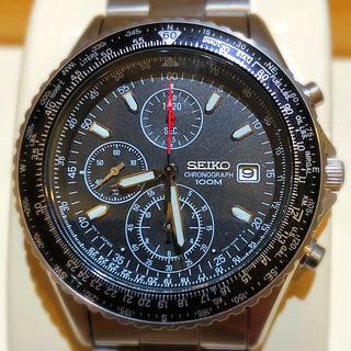 SEIKO - 腕時計メンズSEIKOパイロット逆輸入