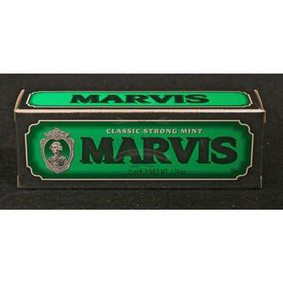 マービス(MARVIS)のMARVIS 歯磨き粉 グリーン ストロングミント85m(歯磨き粉)
