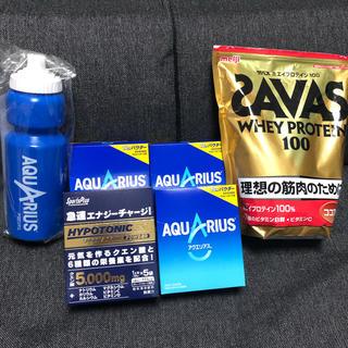 ザバス(SAVAS)のスポーツドリンクセット SAVASプロテイン(その他)
