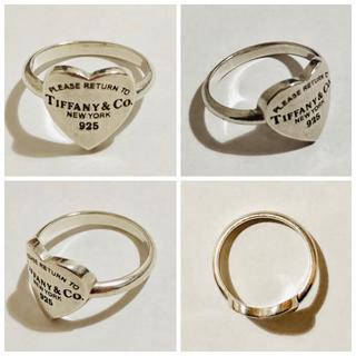 ティファニー(Tiffany & Co.)の正規品 中古品 リターントゥティファニー ハート リング 指輪 11号(リング(指輪))