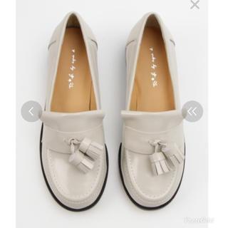 アニエスベー(agnes b.)の未使用新品  agnes b.   ローファー 24.5(ローファー/革靴)