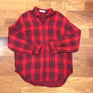 dholic - dholic チェックシャツ