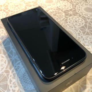 アップル(Apple)のiPhone 7 Jet Black 128GB SIMフリー(スマートフォン本体)