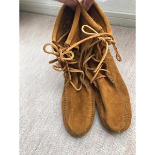 ミネトンカ(Minnetonka)の新品 未使用 ミネトンカ フリンジ ブーツ(ブーツ)
