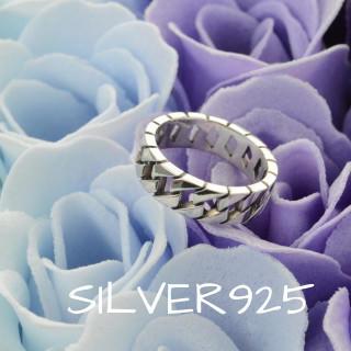 送料無料☆Silver925ジグザグいぶし加工シンプルリング 11号ユニセックス(リング(指輪))