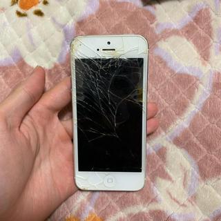 アップル(Apple)のiPhone 5 中古(スマートフォン本体)