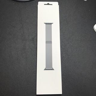 アップルウォッチ(Apple Watch)のApple Watch バンドミラネーゼループ 44mm(金属ベルト)