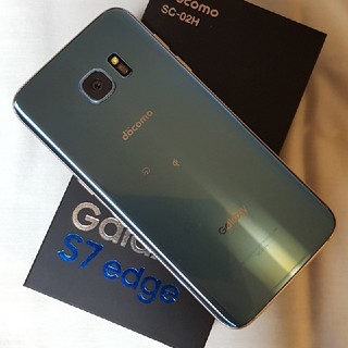 サムスン(SAMSUNG)のジャンクdocomo Galaxy S7 edge SC-02H(スマートフォン本体)