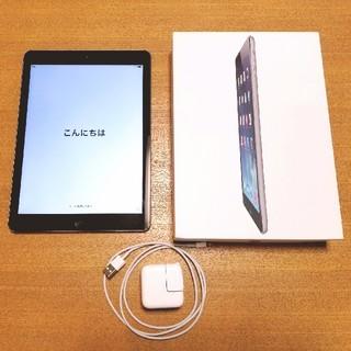 Apple - iPad Air 16GB Wifi  アダプタ・ケーブルあり