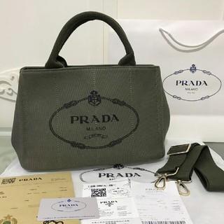 プラダ(PRADA)のPRADA カナパトートバッグ S 新品(トートバッグ)