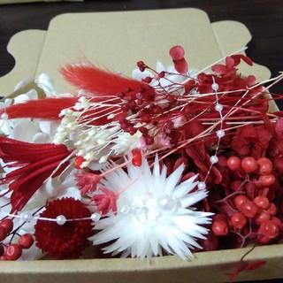 seven rose様専用赤のおすそわけ花材mix(プリザーブドフラワー)