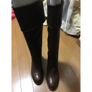 ヒミコ(卑弥呼)のcountry view ロングブーツ新品(ブーツ)