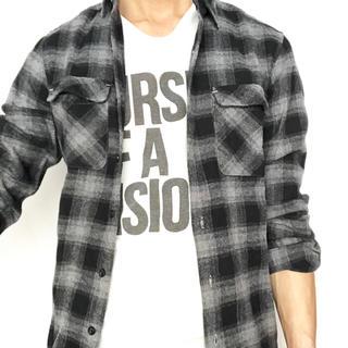 ジーユー(GU)のGU(ジーユー)ネルチェックシャツ(シャツ)
