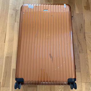 リモワ(RIMOWA)のリモワ スーツケース キャリーバック ☆ オレンジ RIMOWA(旅行用品)