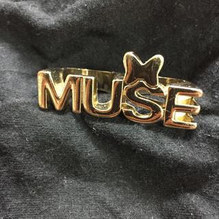 フォーエバートゥエンティーワン(FOREVER 21)の指輪 ミニーマウス 2連  リング アクセサリー アクセサリー ディズニーコラボ(リング(指輪))