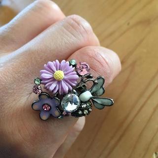 お花 指輪 リング(リング(指輪))
