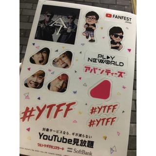 YTFF ステッカー