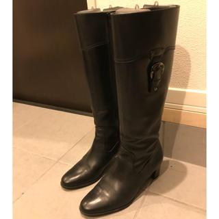 ダイアナ(DIANA)のDIANA ロングブーツ ブラック(ブーツ)