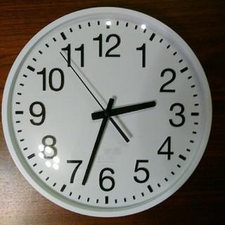 IDEA LABEL 電波 壁掛け時計 大きめ (掛時計/柱時計)