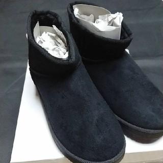 ムートンブーツ ブラック(ブーツ)