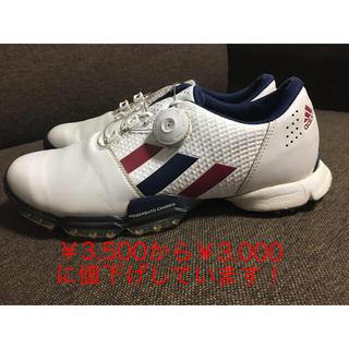 adidas - アディダスゴルフシューズ25.5cm