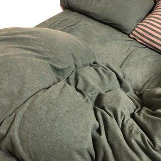 ムジルシリョウヒン(MUJI (無印良品))の無印良品 ベッドカバーセット(シーツ/カバー)