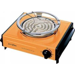 【新品 ☆ 】電気コンロ IEC-105 オレンジ 新品(調理道具/製菓道具)