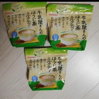 ワコウドウ(和光堂)の牛乳屋さんのほうじ茶ミルクティー(茶)