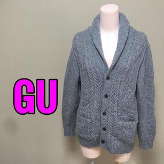 ジーユー(GU)のGU♡ケーブル編みカーディガン(カーディガン)