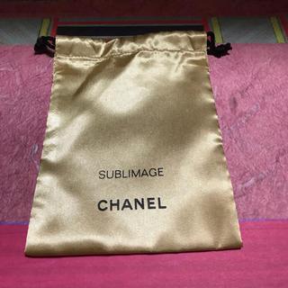 シャネル(CHANEL)のシャネルサブリマージュ巾着ポーチ(ポーチ)