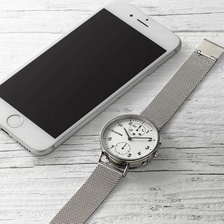 アイフォーン(iPhone)の新品未使用 RHYTHM(リズム時計)スマートウォッチ メンズレディース腕時計(腕時計)