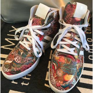 アディダス(adidas)のレア厚底ハイカット売り切り(スニーカー)