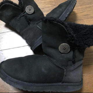 アグ(UGG)のUGGアグ  ベイリーボタン、ムートンブーツ、もこもこ、ファー靴(ブーツ)