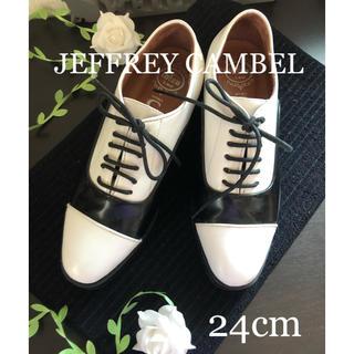 ジェフリーキャンベル(JEFFREY CAMPBELL)のIbiza JEFFREY CAMBEL レースアップ シューズ(ローファー/革靴)
