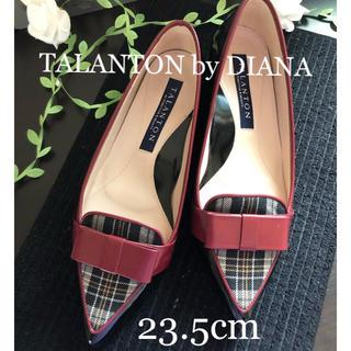 ダイアナ(DIANA)の【美品】TALANTON by DIANA ローヒール パンプス(ハイヒール/パンプス)
