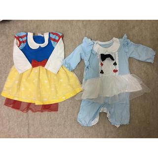 Disney - ベビー服 80 白雪姫 アリス