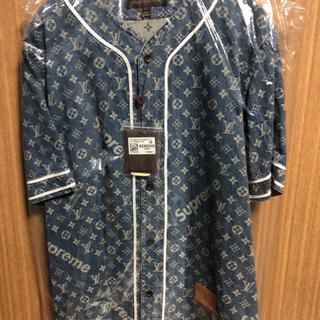ルイヴィトン(LOUIS VUITTON)のLOUIS VUITTON Supreme Baseball Jersey(シャツ)
