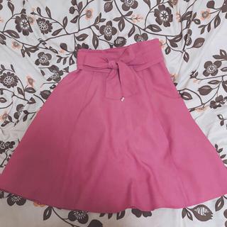 ミッシュマッシュ(MISCH MASCH)のミッシュマッシュ ピンクスカート(ひざ丈スカート)